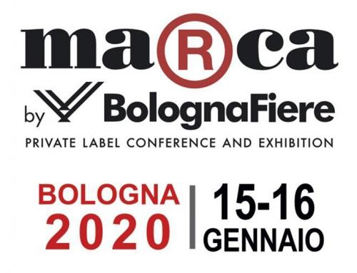 Marca by BolognaFiere  – Bologna 15-16 gennaio 2020