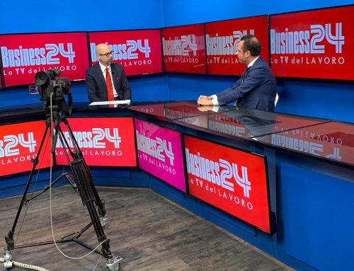 Domenico Raccioppoli interview on Sky