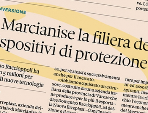 Medical Polo and Food Packaging, on Sole24ore the investments of the Raccioppoli Group