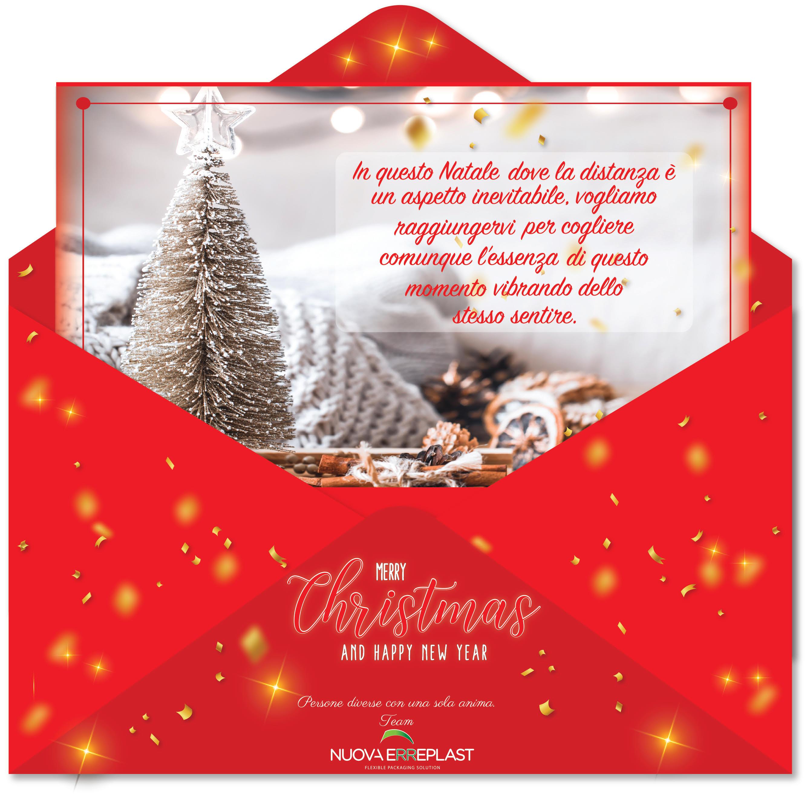 Cartoline Buon Natale E Felice Anno Nuovo.Buon Natale E Felice Anno Nuovo Nuova Erreplast