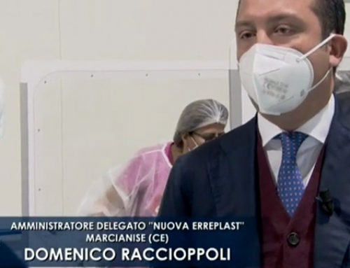 """The right fabric"" Nuova Erreplast on RAI 3 channel in ""Mezzogiorno Italia"""