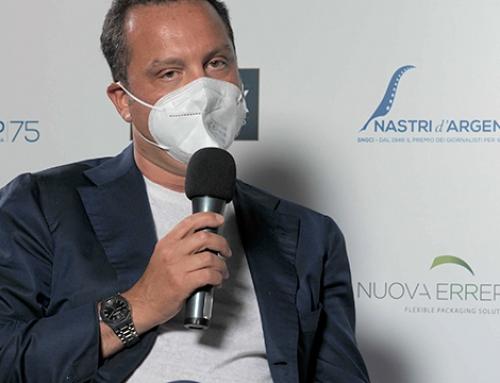 """Nuova Erreplast partner alla 75^ edizione dei """"Nastri d'Argento"""" 2021"""